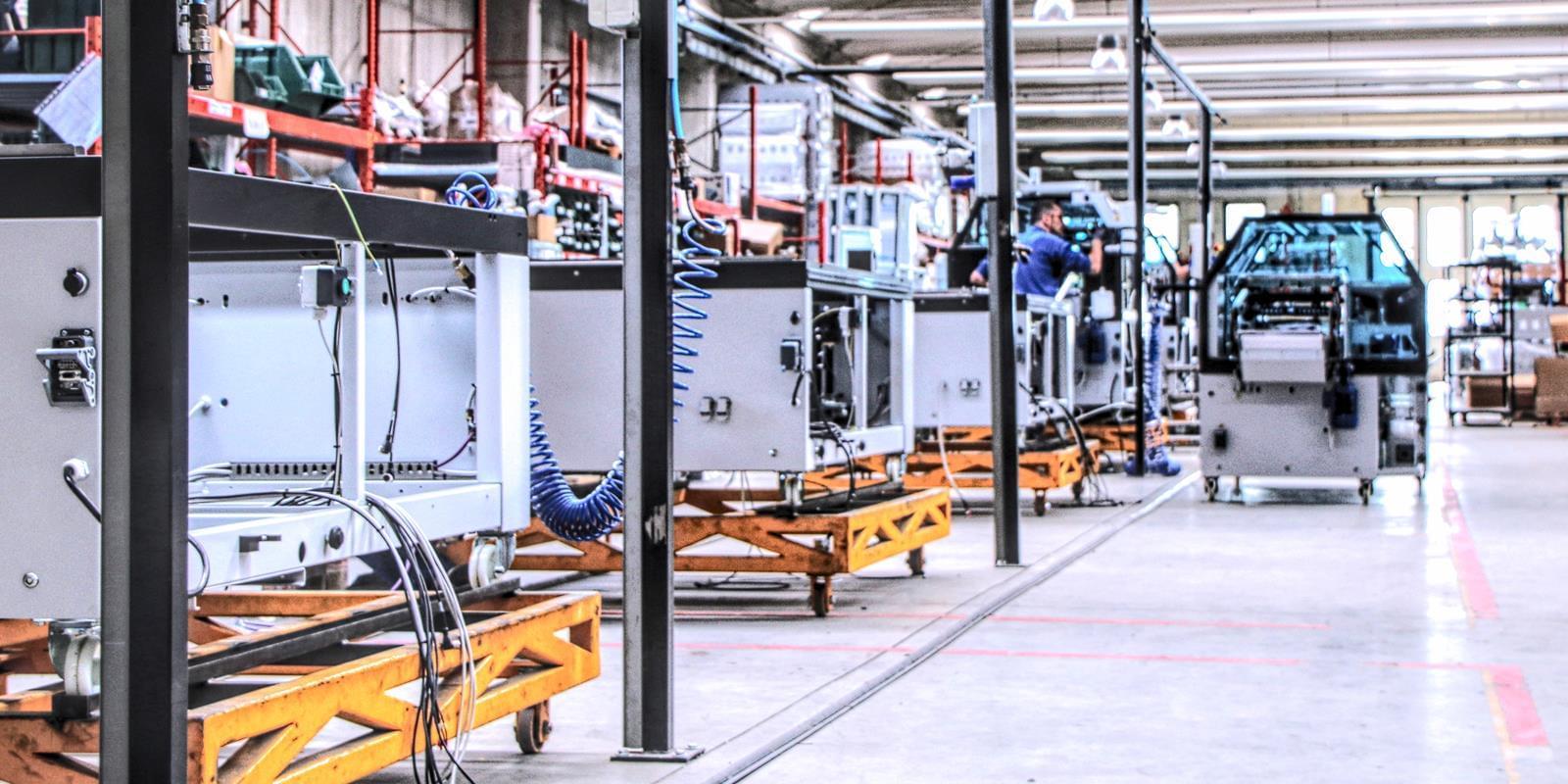 Linie automatische Maschinen