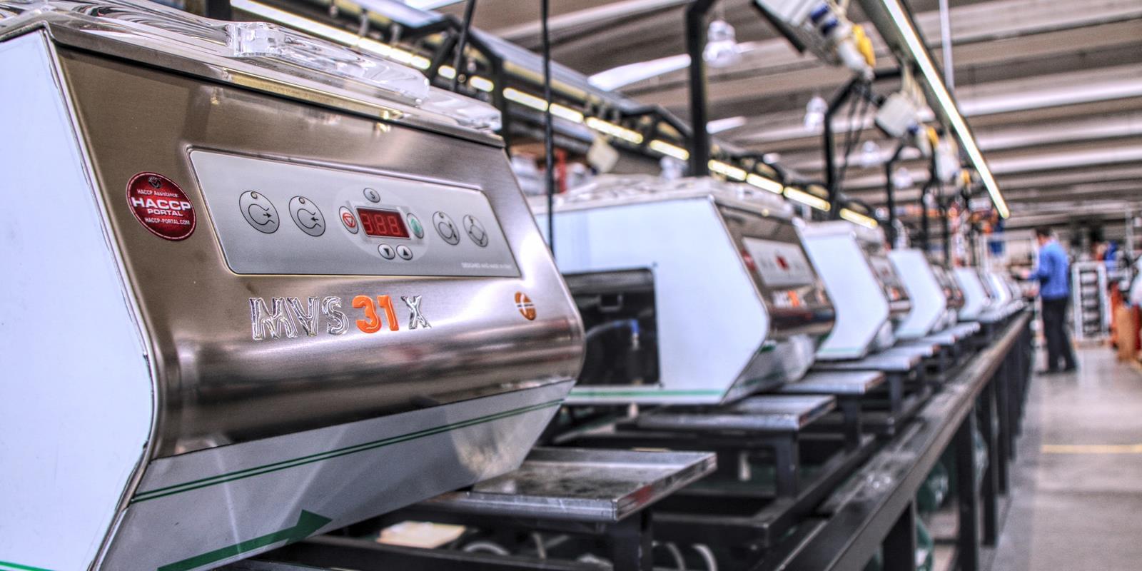 Ligne machines sous vide tête 1600