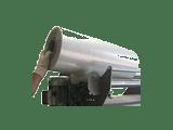Rouleaux latéraux pour faciliter l'insertion des bobines
