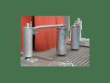 Rouleaux presseurs latéraux, en cas de fermeture complète du fardeau