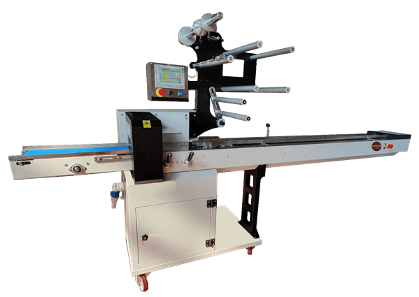 macchina confezionamento flow pack